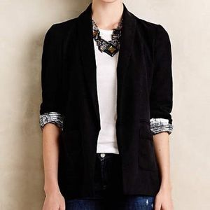 Emerson Black Blazer Cartonnier Single Button Suit